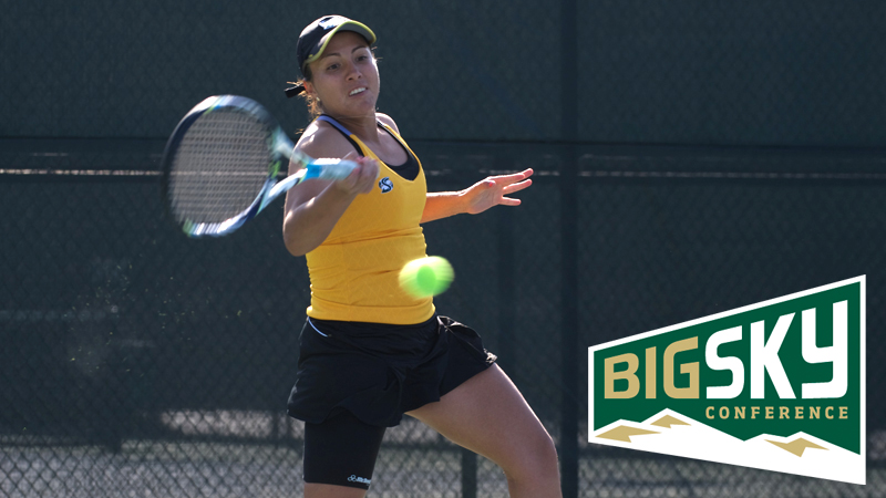 REBECA DELGADO NAMED BIG SKY WOMEN'S TENNIS PLAYER OF THE WEEK