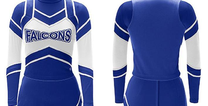 Cheerleading unveils new uniforms