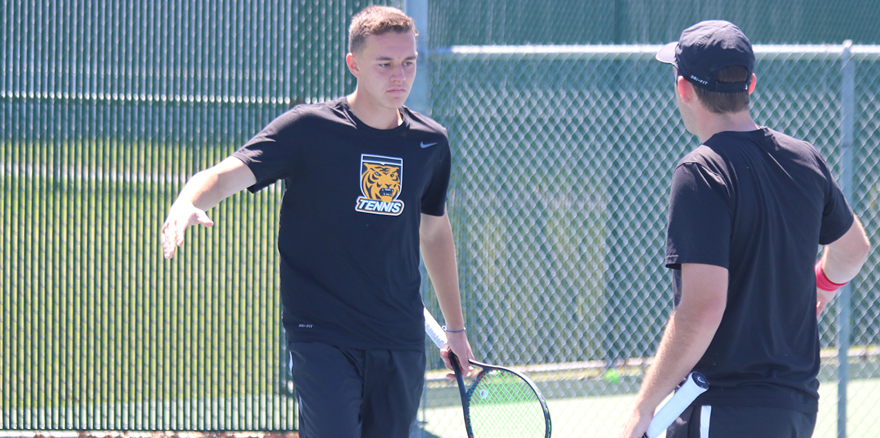 Colorado College Defeats Texas Lutheran in Men's Tennis Fifth Place Match