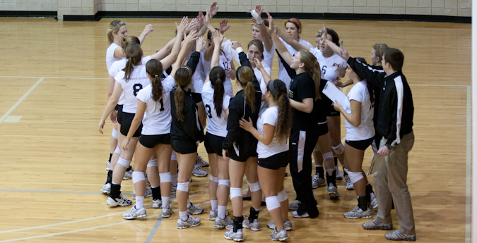 Volleyball Faces Centenary in Opening Round of SCAC Championship