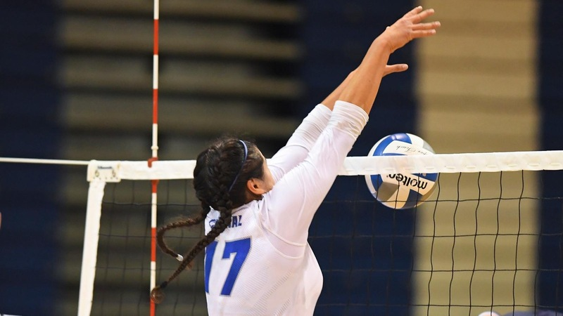 Volleyball Rallies Past Saint Francis U, 3-1