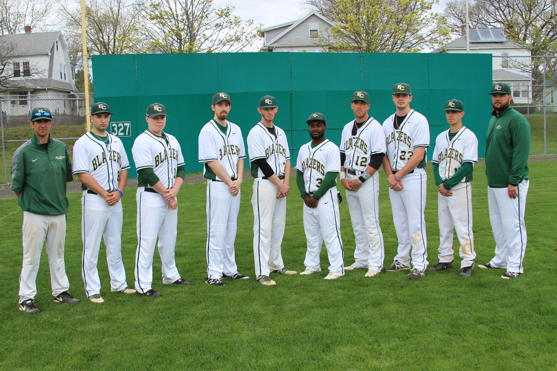Baseball Sweeps Southern Vermont On Senior Day