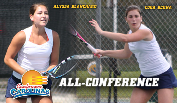 Berna, Blanchard Crack All-Conference Team