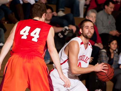 Hot shooting leads No. 6 Cardinals past Moravian 85-59