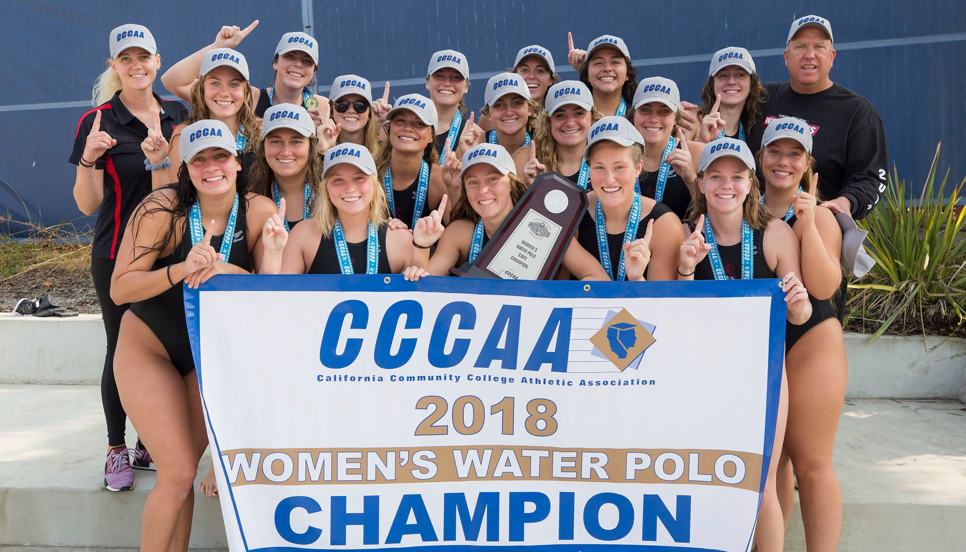 Women's Water Polo State Champions 2018