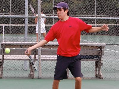 Men's Tennis Takes Two