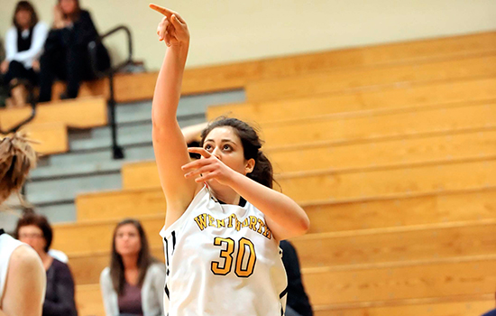 Strong Second Half Lifts Women's Basketball to Second Straight Win