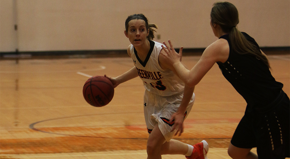 Women's basketball headed to SLIAC tournament with win