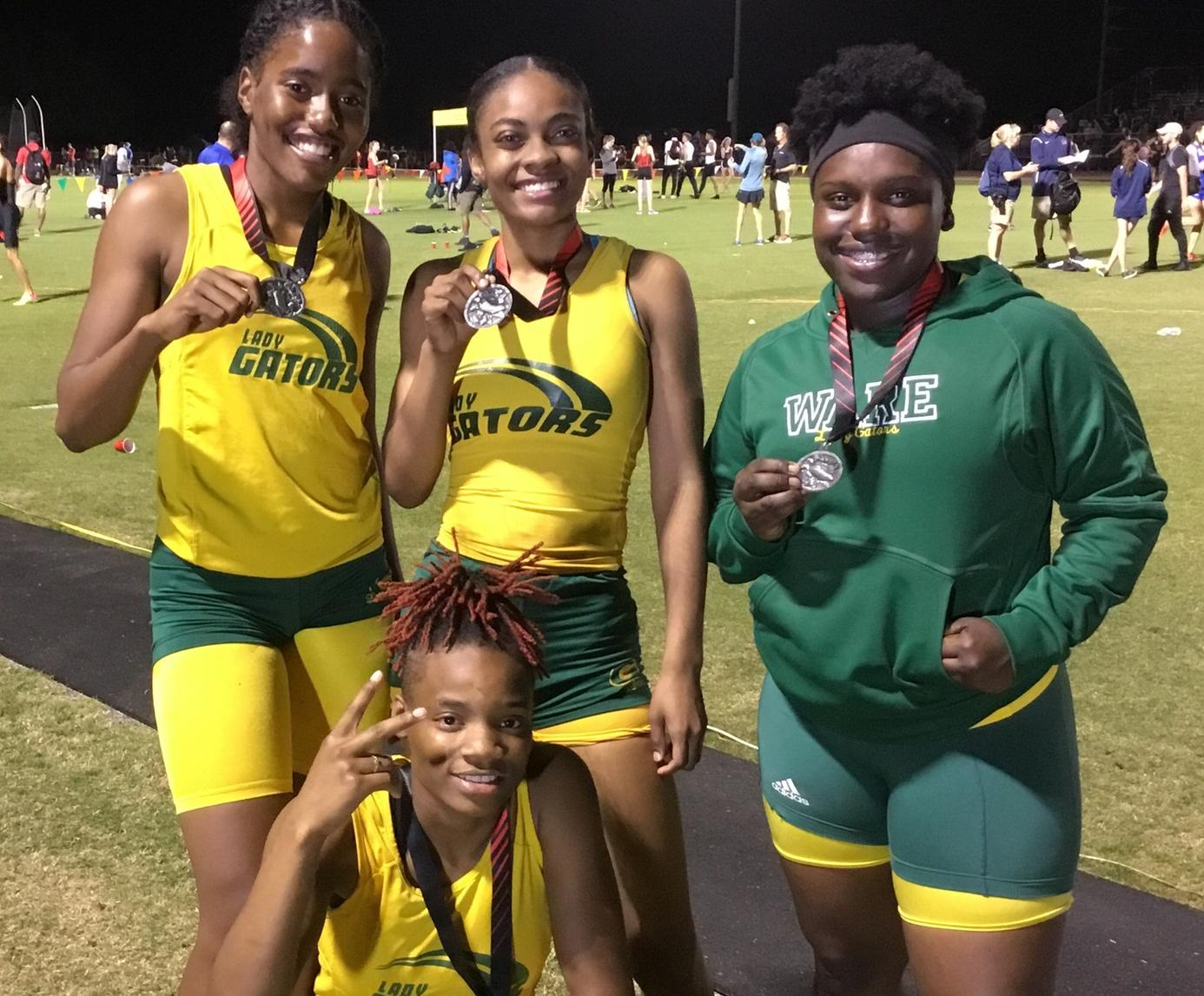 Gators and Lady Gators off to a strong Track Season Start