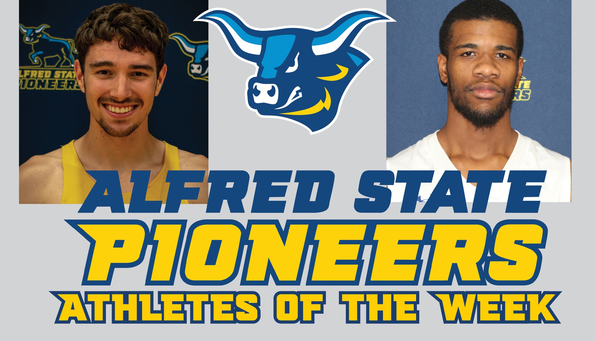 Tahaij Lewis and Jacob Drew named Athletes of the Week