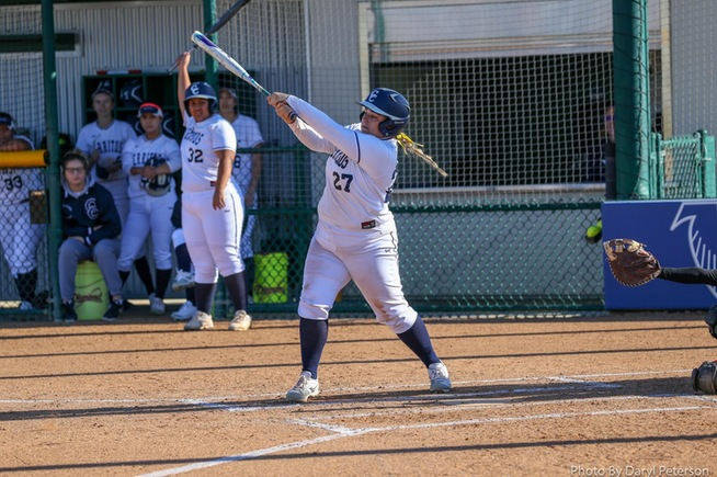 File Photo: Keira Bolinas reached base four times for the Falcons