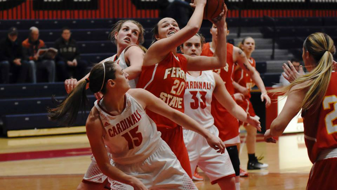 Ferris State Women's Basketball Takes GLIAC Leader SVSU To Wire In Overtime Road Battle