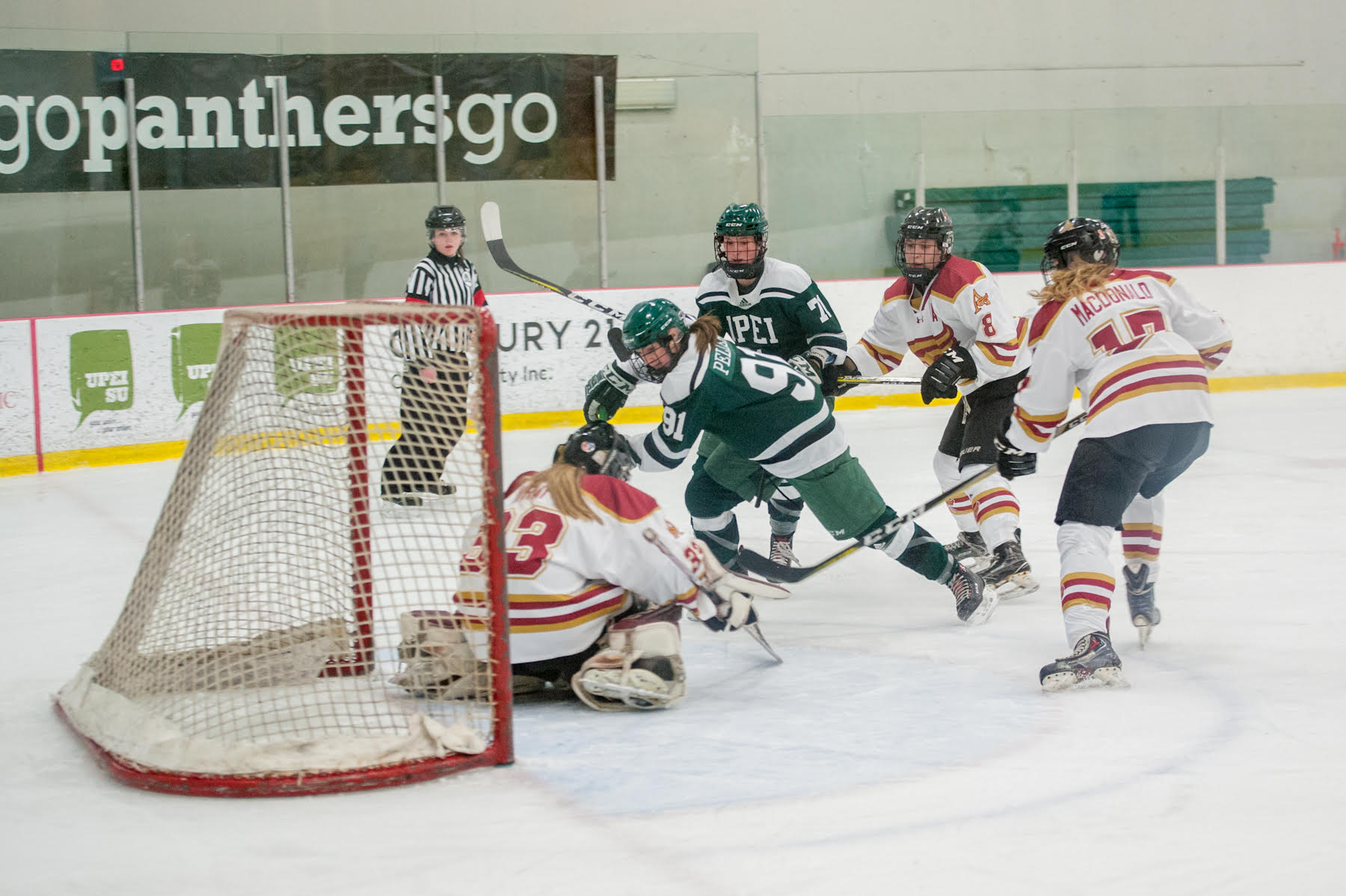Panthers' offence erupts for four goals against Mount Allison