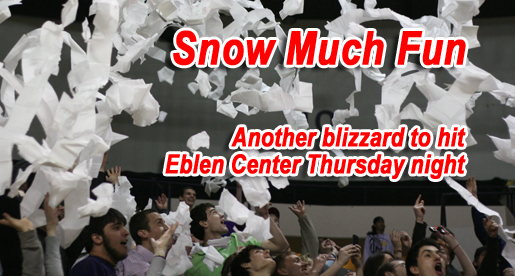 Another Blizzard approaching; Forecast to hit Eblen Center at Thursday's game