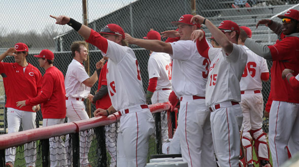 Red Raven Baseball Opens Up Their KJCCC Season with Two Victories Over Fort Scott