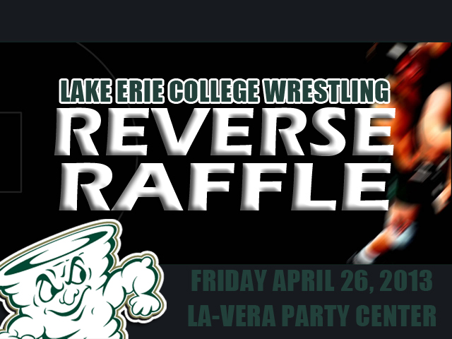 Wrestling Reverse Raffle Set for April 26