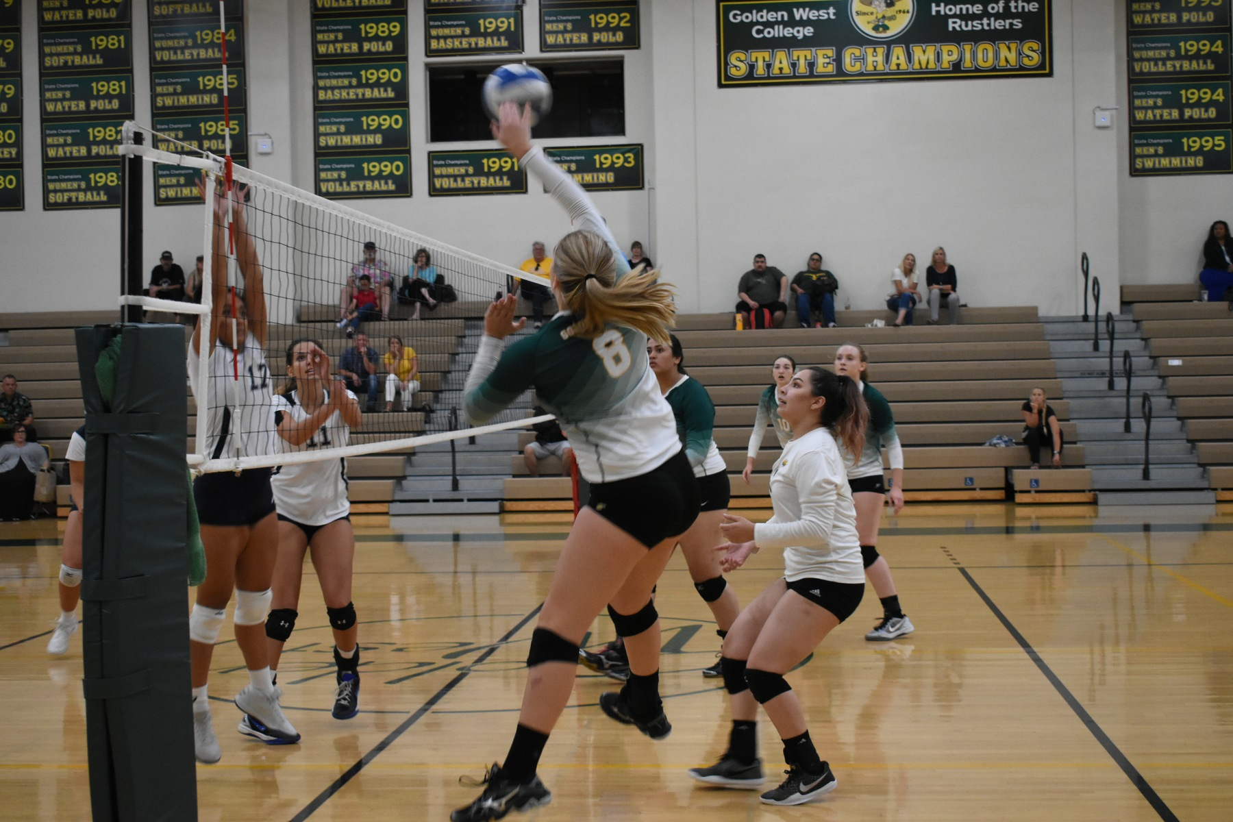 W Volleyball: Falls in Five Set Thriller