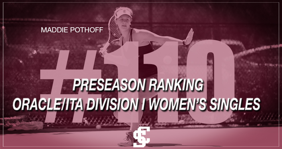 Maddie Pothoff of Women's Tennis in ITA Preseason Ranking