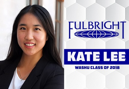 Washington University Women's Tennis Student-Athlete Kate Lee Awarded Fulbright Scholarship