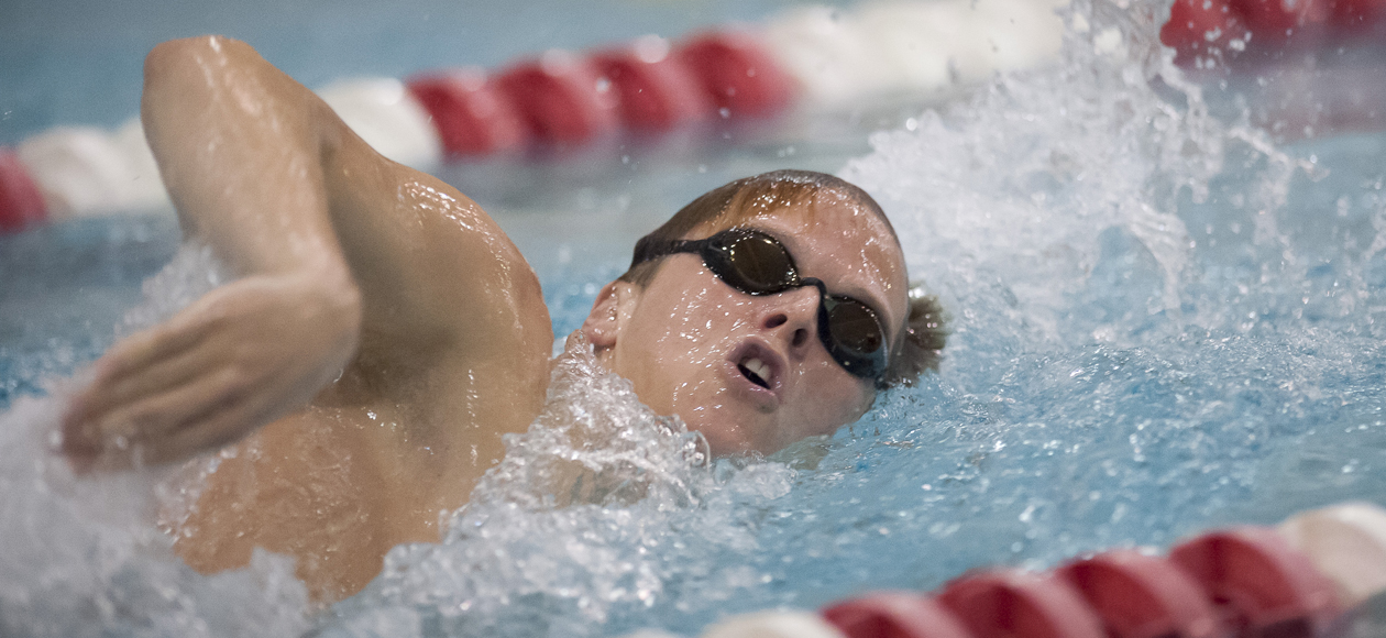 Men's Swimming and Diving Falls To Union and Hartwick