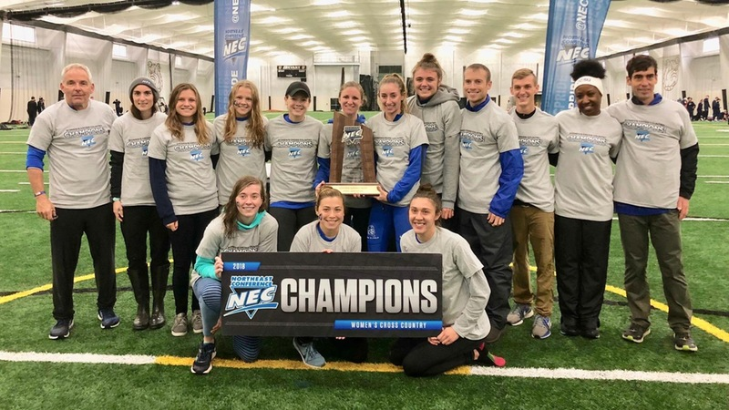 Women's Cross Country wins NEC Championship