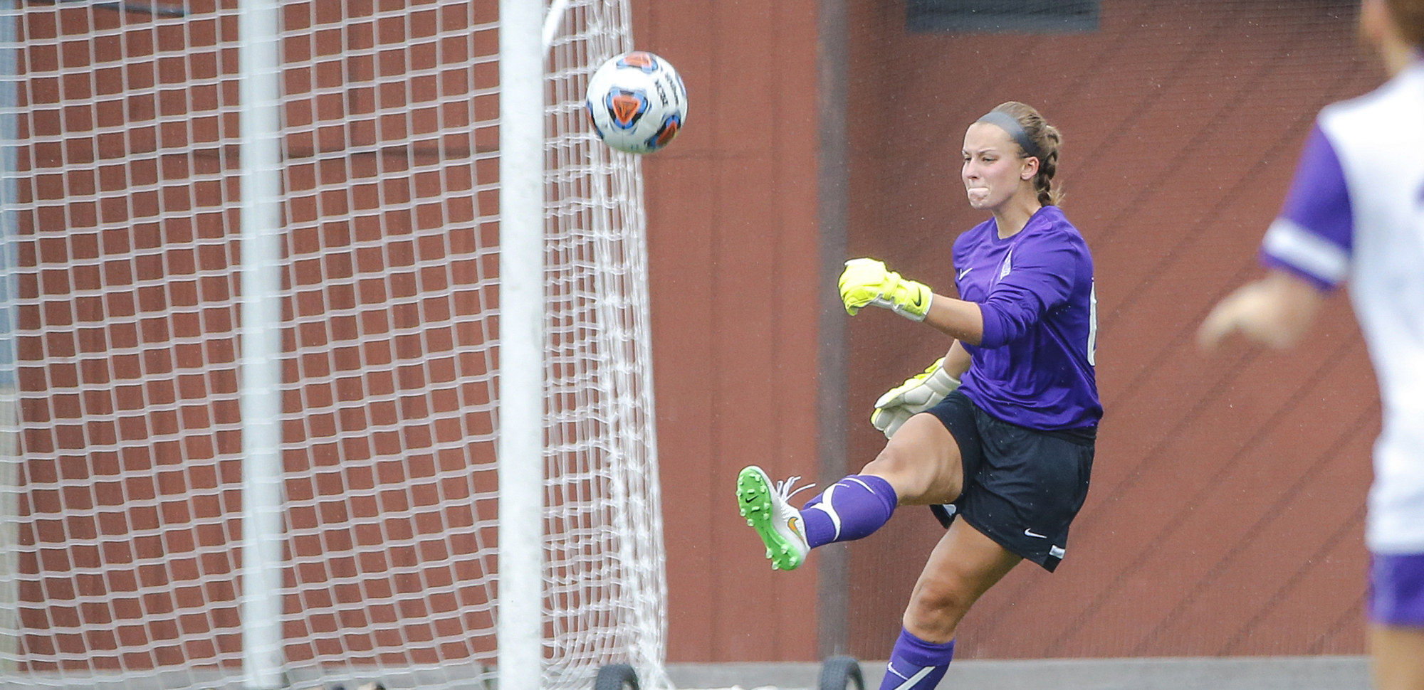 Senior goalkeeper Krissy Welsh has been named the Landmark Conference Defensive Athlete of the Week.