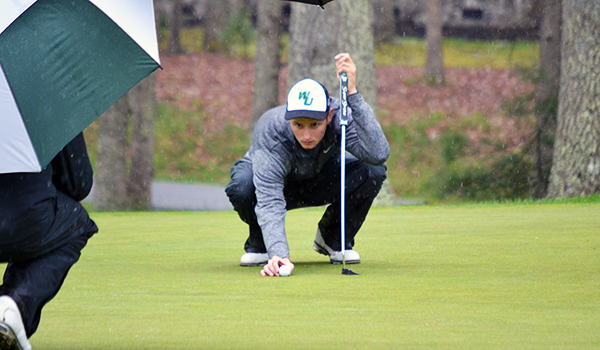 Copyright 2017; Wilmington University. All rights reserved. Photo of Braden McKay in the second round at Super Regionals, taken by Adam Zundell, Mountain East Conference.