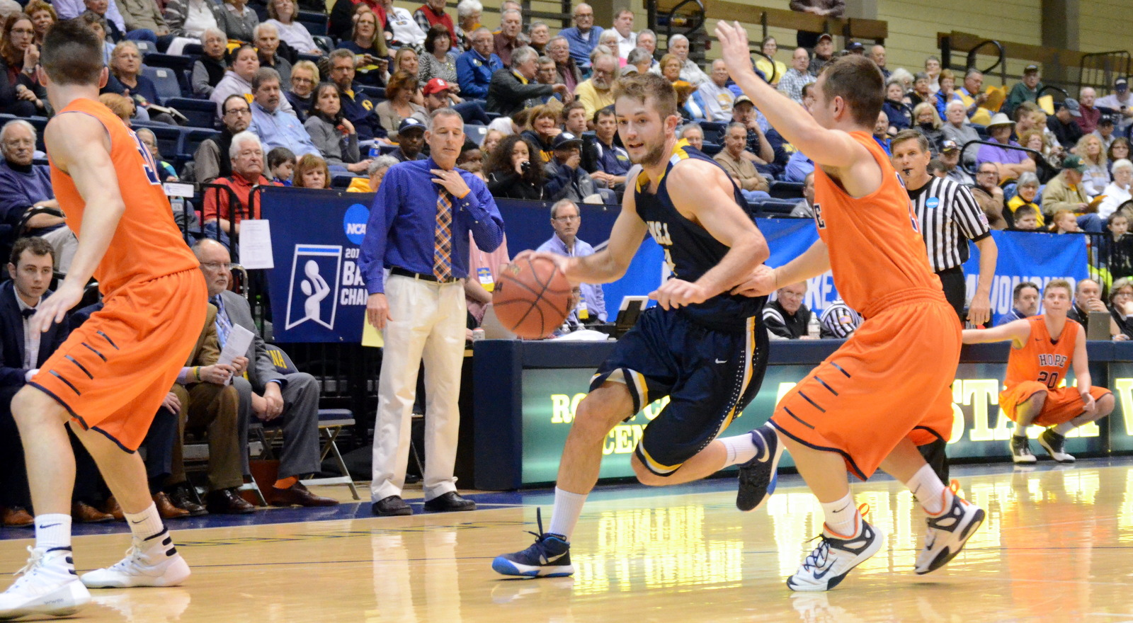 Second-half rally not enough as Mount St. Joseph falls to Hope College in NCAA first round