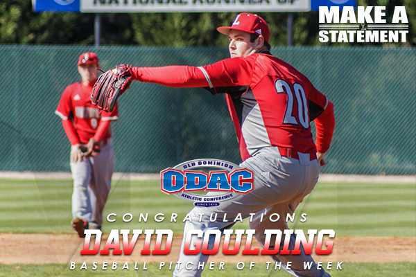 ODAC Pitcher of the Week: David Goulding (2/6-2/13)