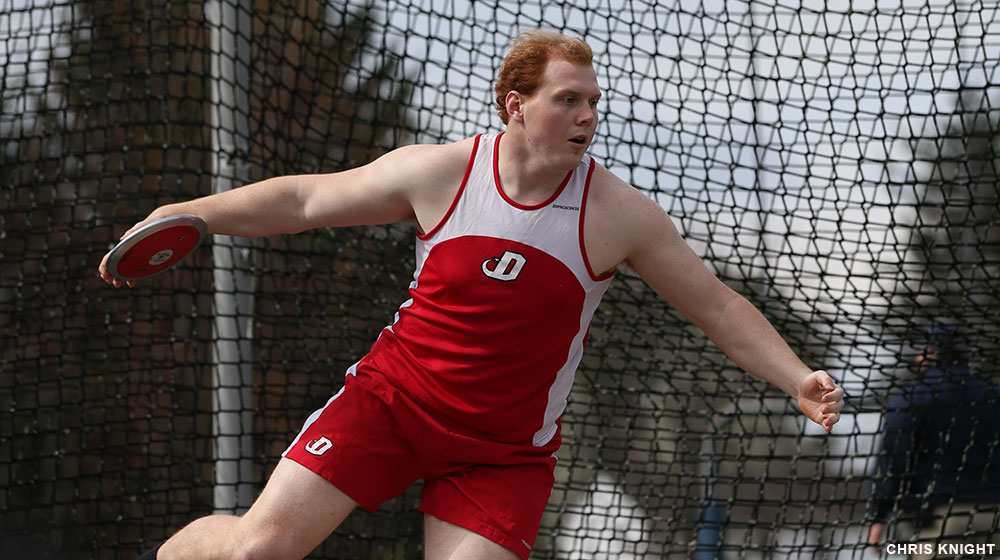 Red Devils Run, Throw Well at Messiah Invite