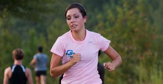 GC Women's Cross Country Sprints to Third Place Finish
