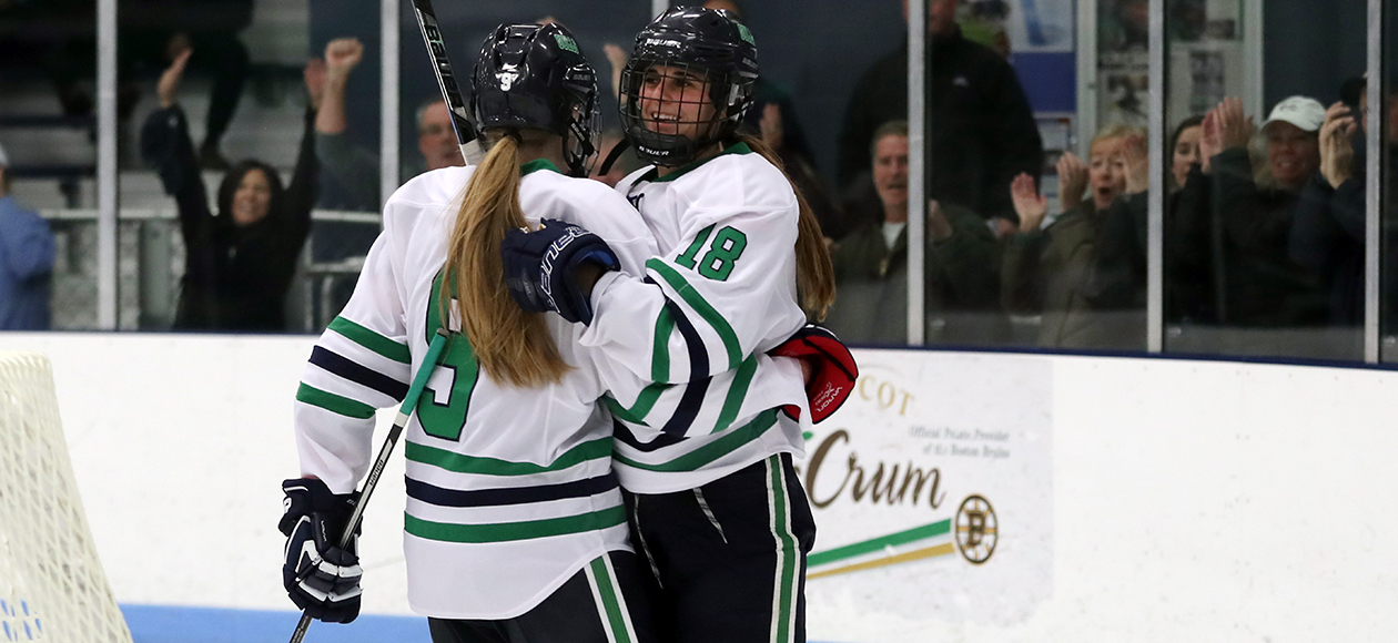 Women's Ice Hockey Shuts Out Becker, 6-0
