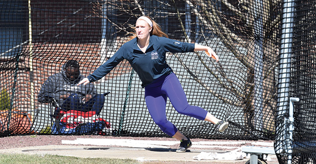 Cunningham Wins Discus as Hounds Finish Second at 2017 ECAC DIII Outdoor Championships