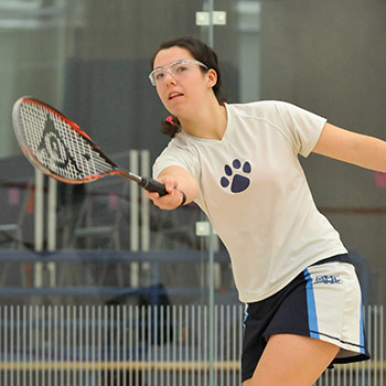 Squash Match at Amherst Rescheduled for February 12th