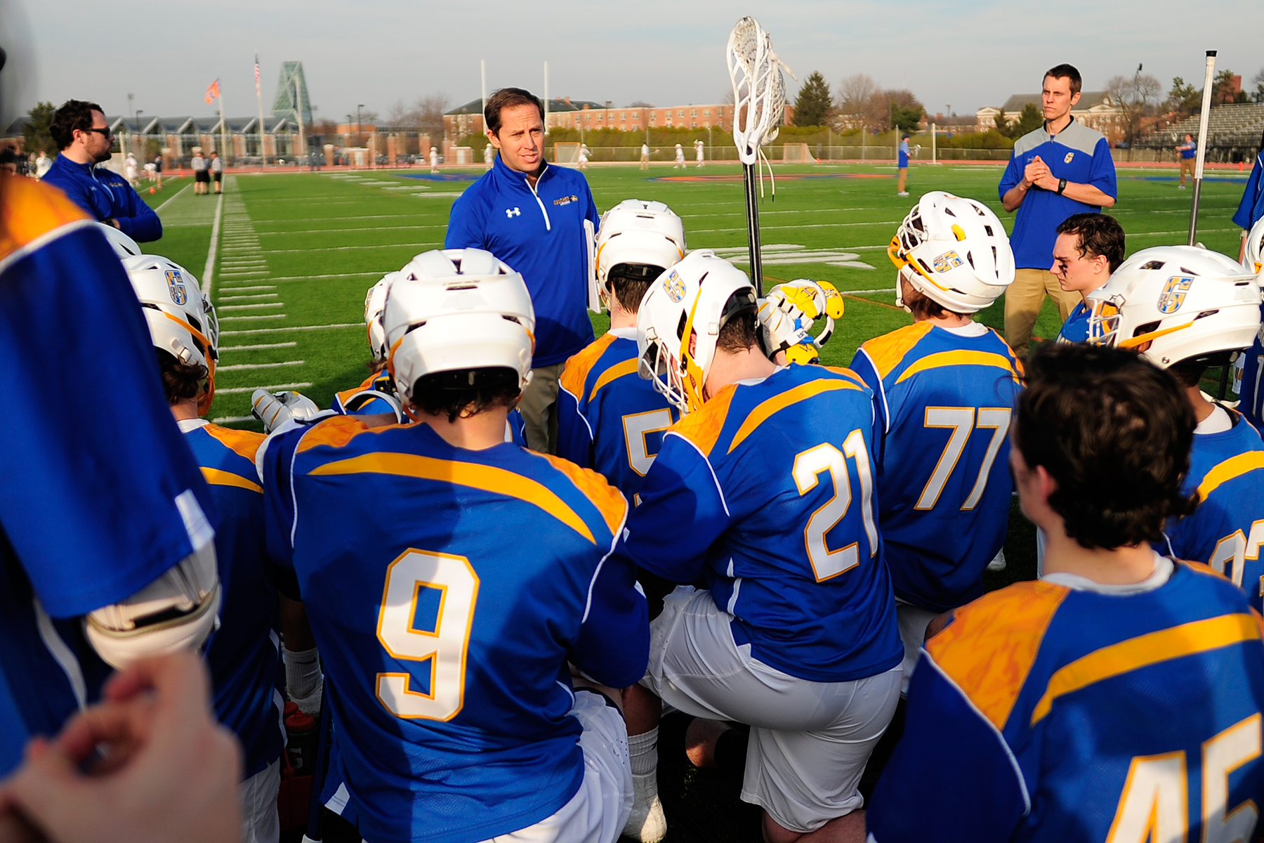 Men's Lacrosse Tabbed Fifth in Landmark Conference Preseason Poll
