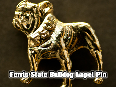 Ferris State's Bulldog Lapel Pins Become A Source Of Pride