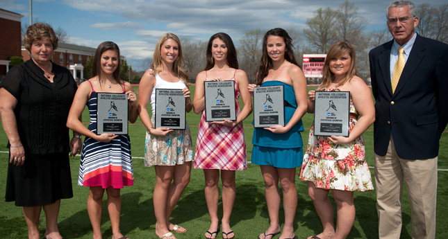 Hornet Field Hockey Receives Five Plaques from the NCAA