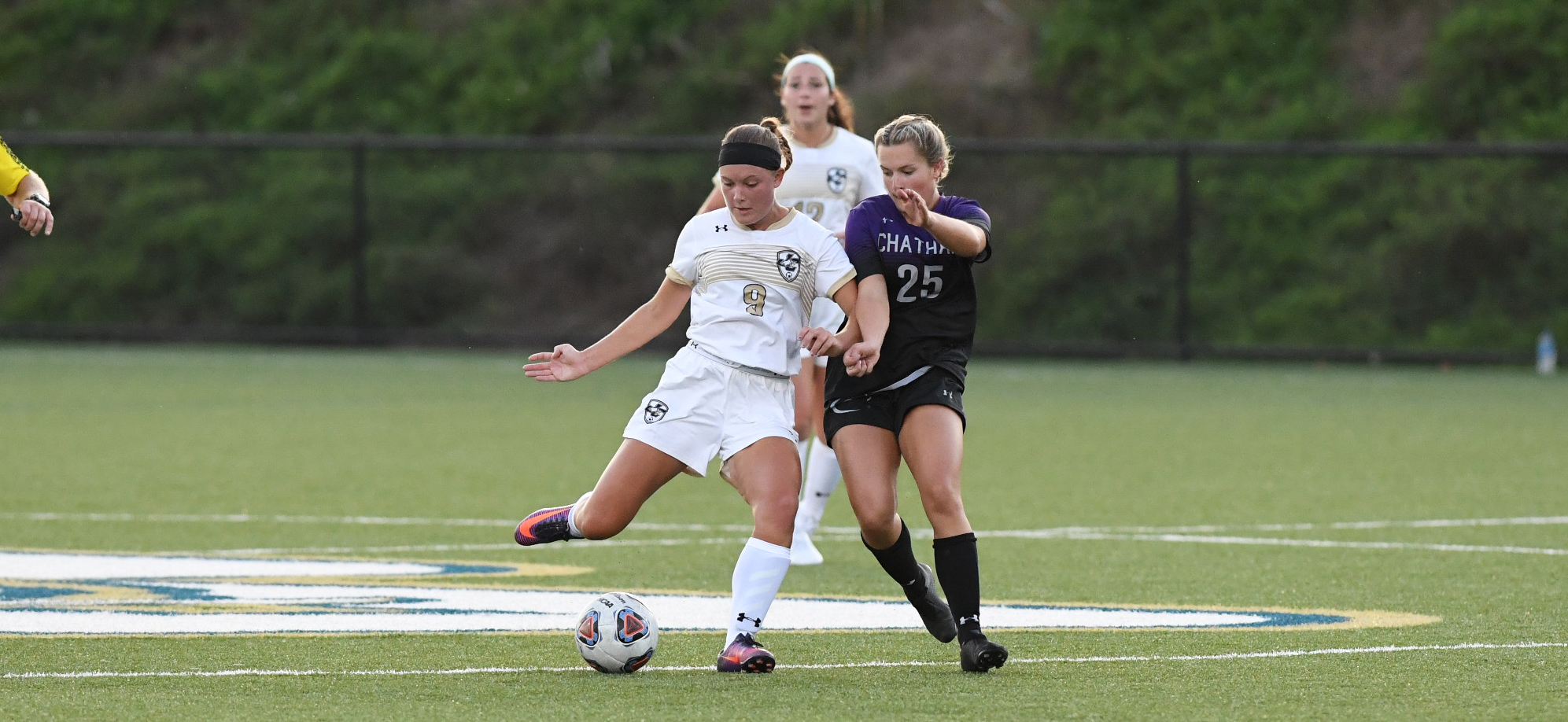 Brooke Emge netted a goal and took two shots as the Eagles drew, 1-1 against Chatham.