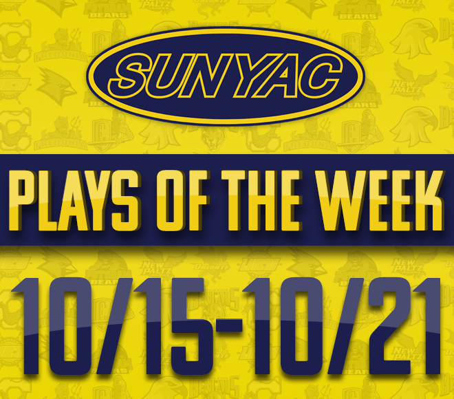 SUNYAC Fall Plays of the Week - Oct. 15-21