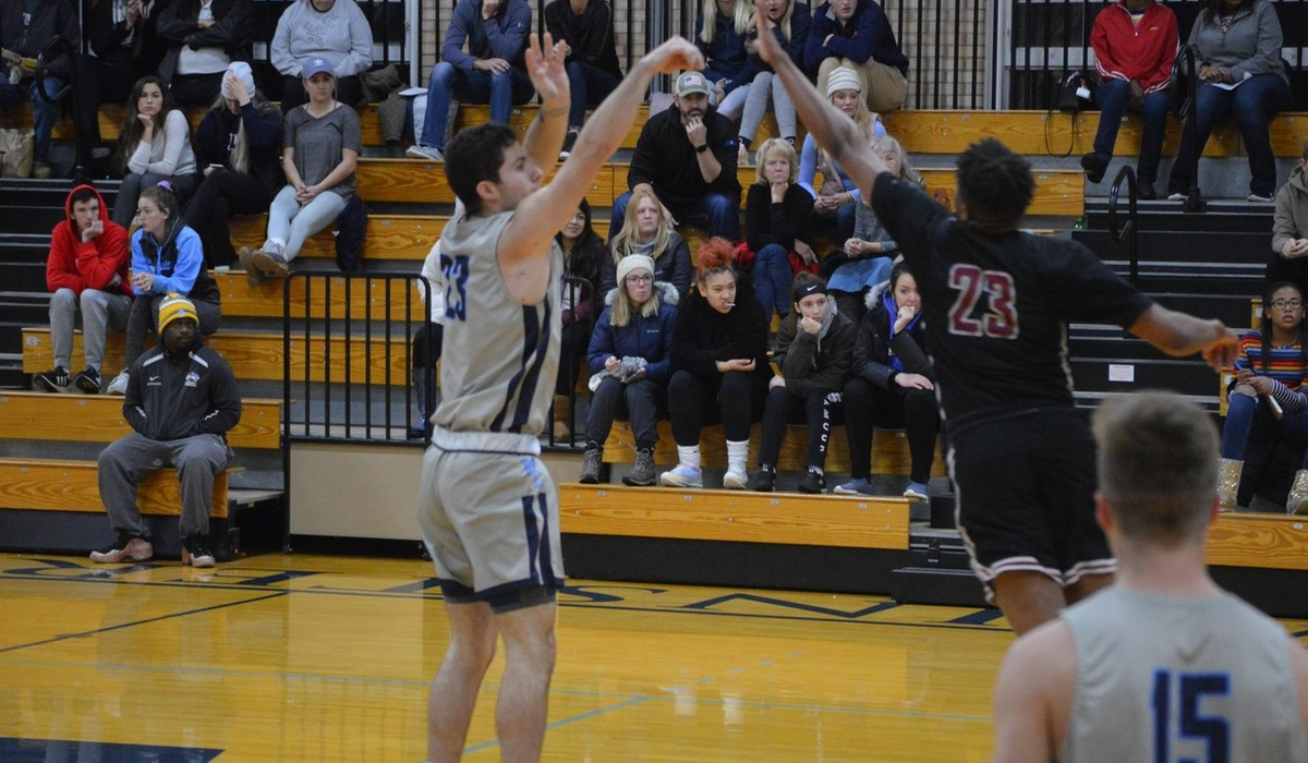 Westminster Men's Basketball Gets First Win Over Manchester