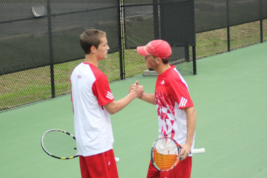 Huntingdon men's tennis picks up first GSAC win of the season