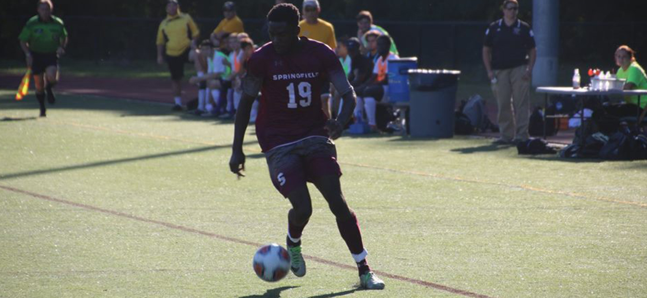 Men's Soccer Prevails Over Coast Guard, 1-0, in Double Overtime