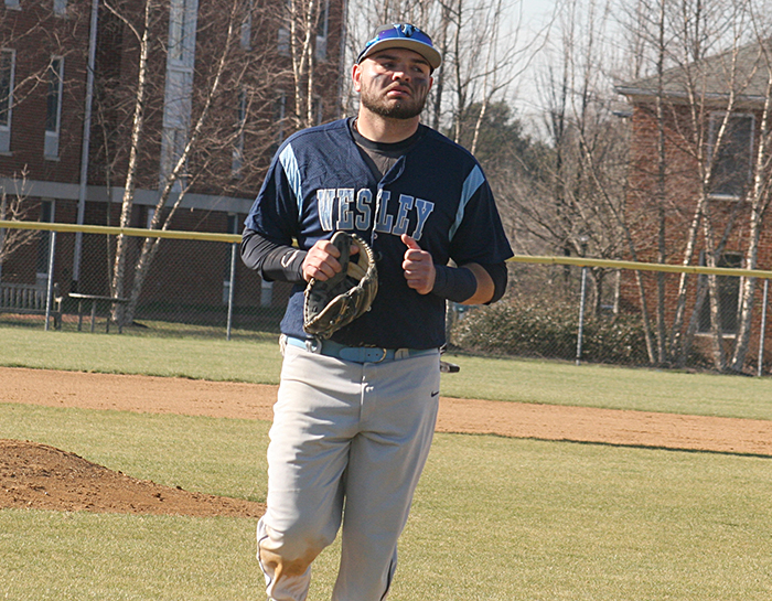 Seibert homers as Wesley drops 7-5 decision to Salisbury