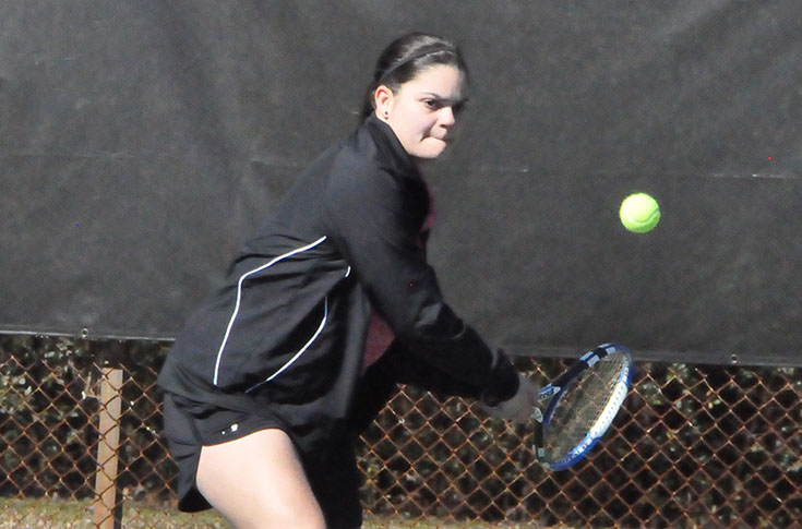 Women's Tennis: Panthers improve to 3-0 with sweep of Mary Baldwin in USA South match