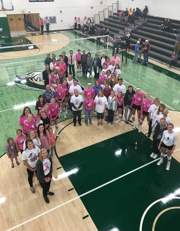 Mystics Raise $1,180 During Pink Night for Women's Way of ND