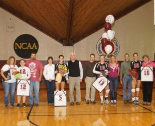 Guilford Volleyball Class of 2011