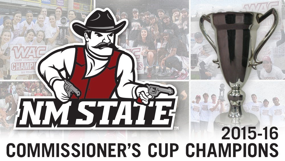 NM State Wins WAC Commissioner's Cup