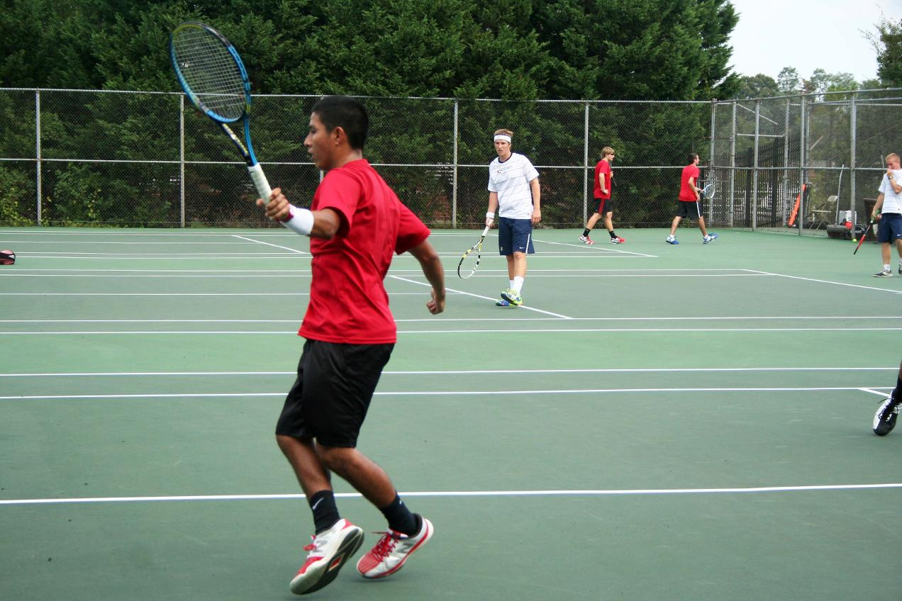 CUA Men's Tennis Opens Fall Play With 9-0 Victory