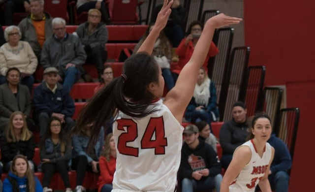 Women's Basketball Rocks Regents in NACC Opener, 84-30