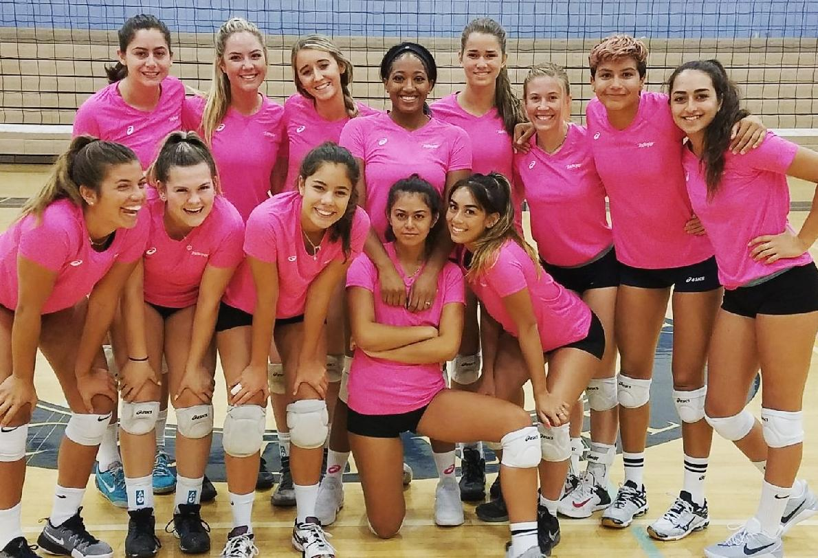 Undefeated women's volleyball team tops poll once again